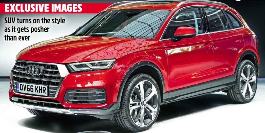 Nuova Audi Q5 2017 Dimensioni - Bagagliaio - Peso | Misure serbatoio, capacità baule, altezza