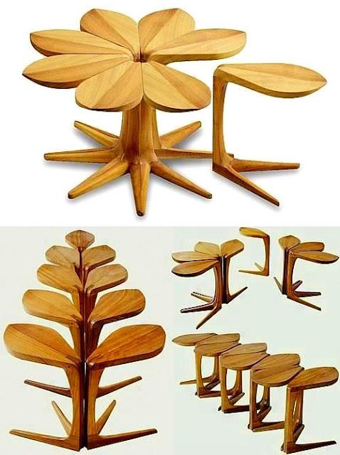 Rekaan Moden Kerusi & Meja yang Kreatif