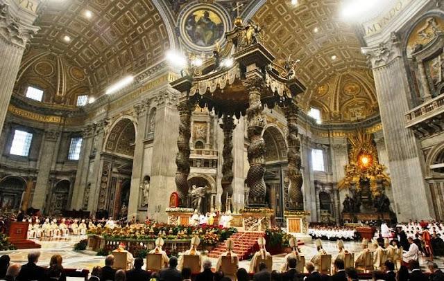 Passeio na Basílica de São Pedro no Vaticano