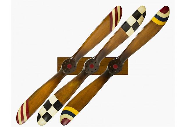 set of 3 barnstormers - Aviation Decor