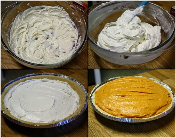 Whisk together softened cream cheese, 1 tablespoon milk and sugar in a  medium bowl (I used an electric hand mixer). Gently fold in whipped topping.