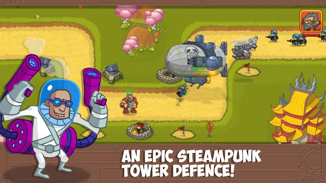 Steampunk Defense Premium MOD APK unlimited money