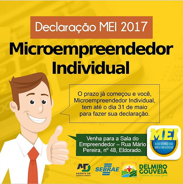 Atenção Microempreendedor Individual, a Declaração Anual 2018 já está liberada