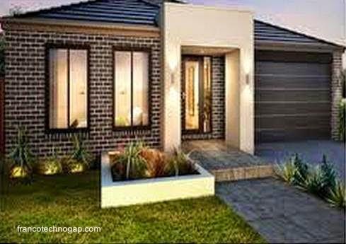 Arquitectura de casas 45 fachadas de casas peque as for Disenos de fachadas de casas pequenas modernas