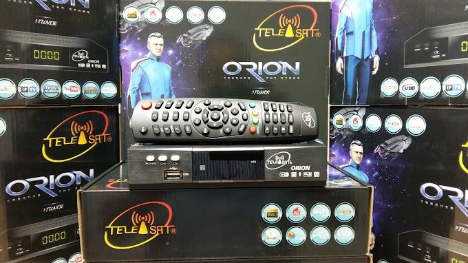 TELEISAT ORION NOVA ATUALIZAÇÃO V8.10.29 S28 - 30/11/2016