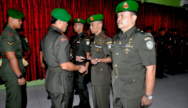 Danrem 012 TU Pimpin Sertiab Dandim 0116 Nagan Raya