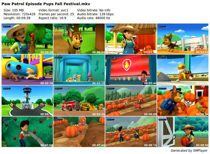 download paw patrol episode pups fall festival dubbing