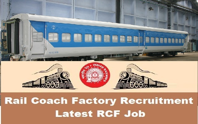 Rail Coach Factory Jobs 2018 Sports Quota Posts