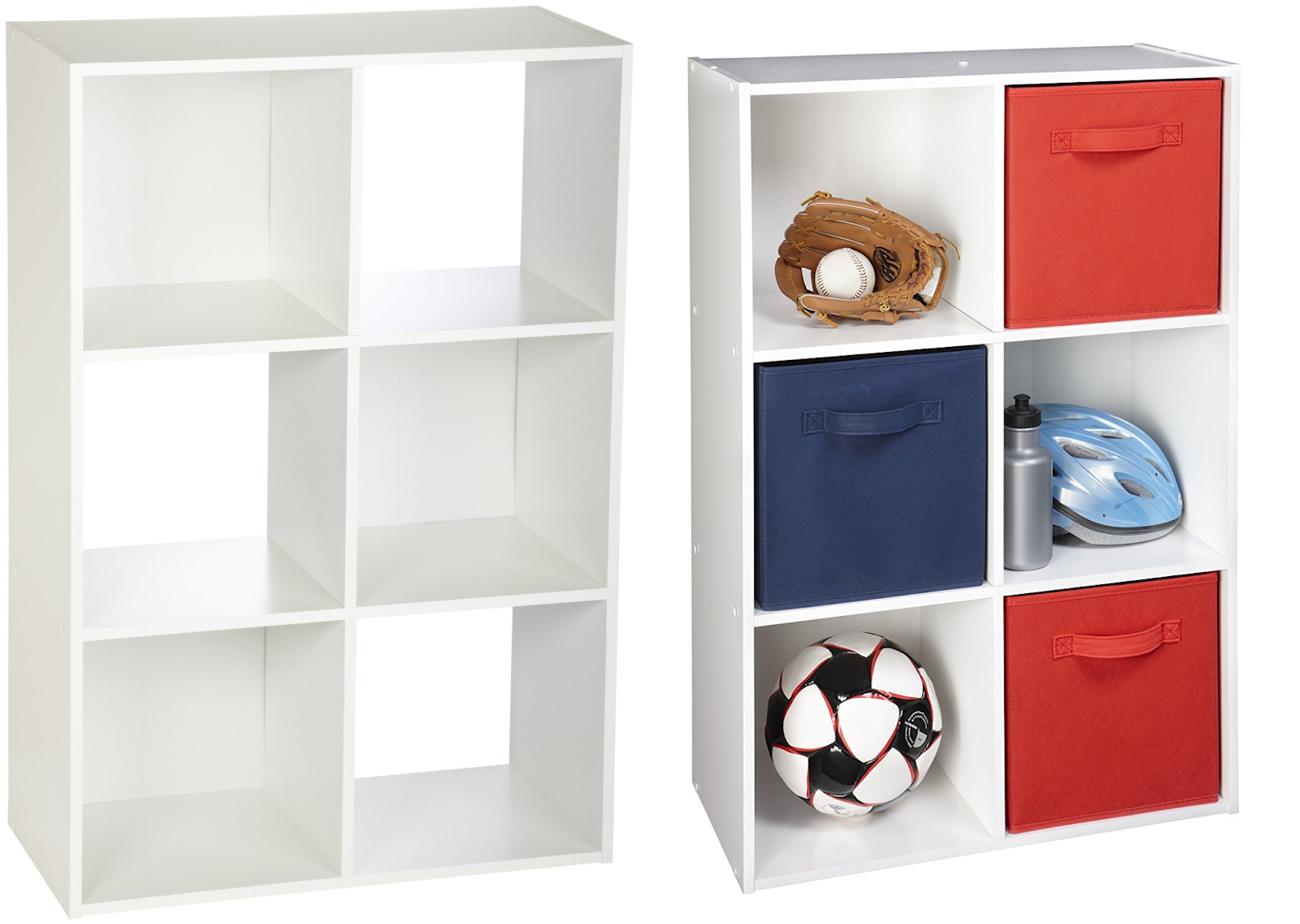 Get This ClosetMaid 6 Cube Organizer In Color White On Sale For $26.97  (Reg. $46) Over At Amazon Or Walmart. This 6 Cube Organizer Is Easy To  Assemble And ...