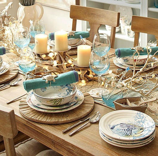 Coastal Tablescape Pier 1