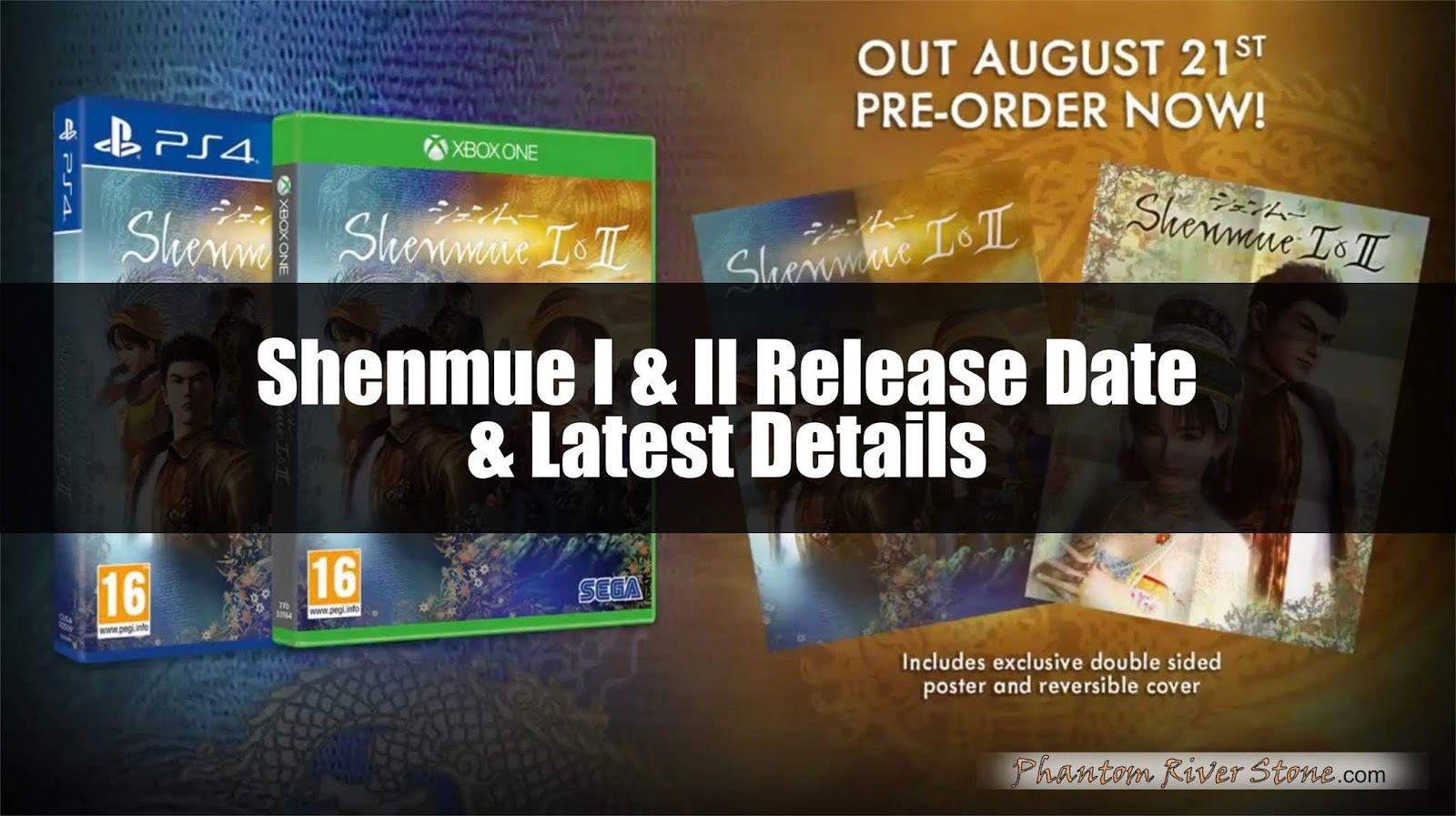 2beadc46b6ebb Shenmue I & II Release Date + Latest Details