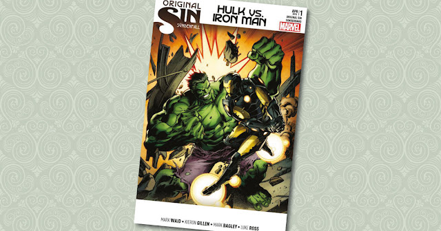 Original Sin Sonderband 1 Hulk Iron Man Panini Cover