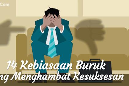 15+ Kebiasaan Buruk yang Menghambat Kesuksesan