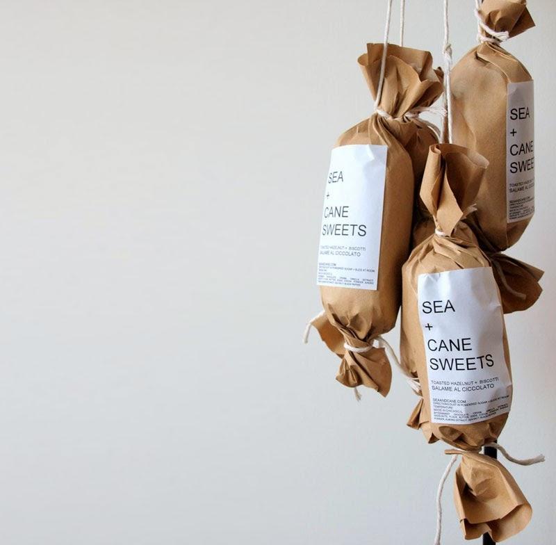 Chocolate Salami de Sea and Cane