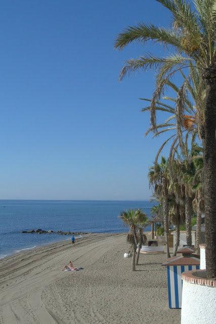 plaże Marbella