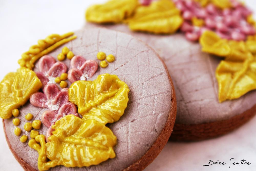 El Hada Lila: Galletas decoradas con 'Efecto piedra craquelada' {Vídeo Tutorial}
