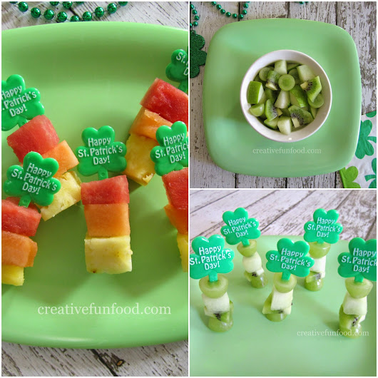 Creative Food: Simple St. Patrick's Day Fruit Snacks