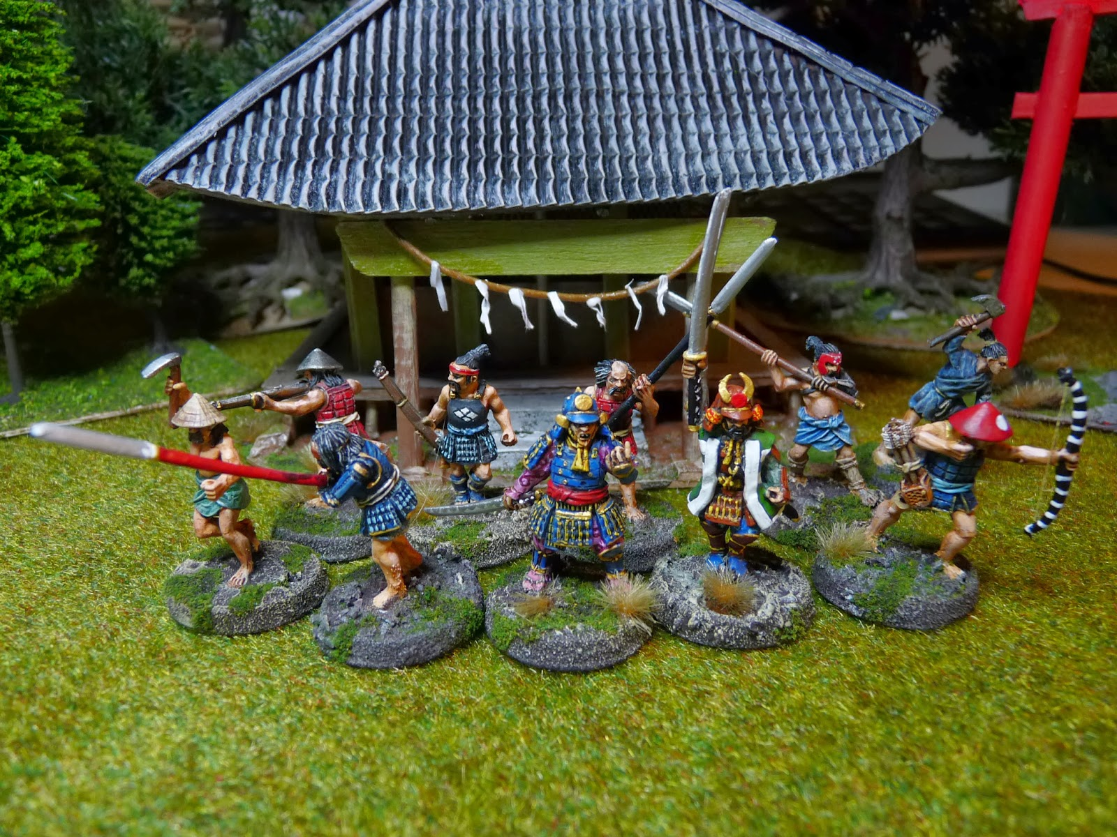 Pijlie´s Wargames Blog: Two buntai for Ronin!