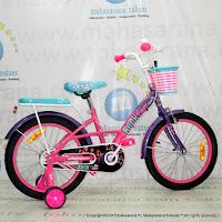 Sepeda Anak Wimcycle Barbie Rock CTB 18 Inci Lisensi