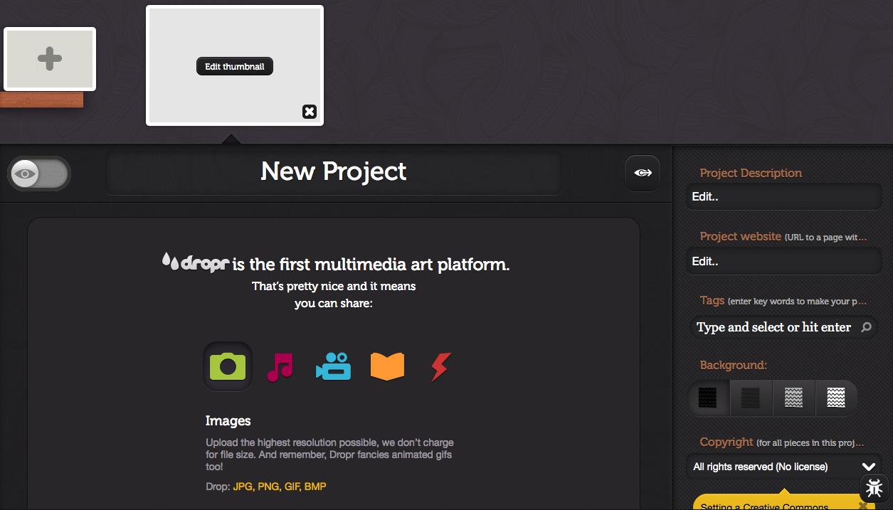 Free Technology For Teachers Dropr Create Multimedia