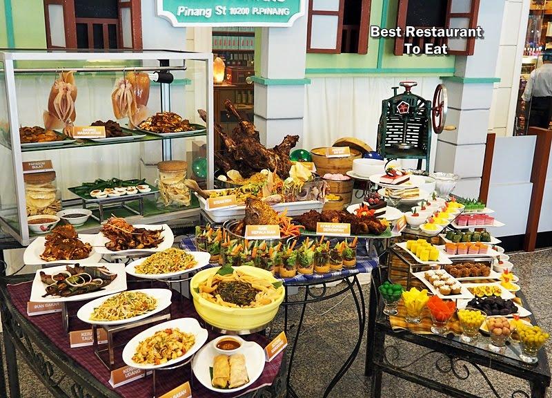 Songket Restaurant Menu
