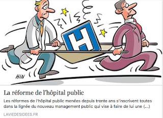 La réforme de l'hôpital public, un management sans ménagement