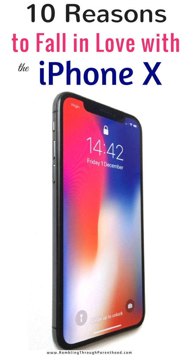 Having used the new iPhone X over the last few days, I have fallen in love with this technological marvel. It's fast, intelligent and an absolute joy to use. There's more. Here are 10 reasons why I have fallen in love with the iPhone X. (review)