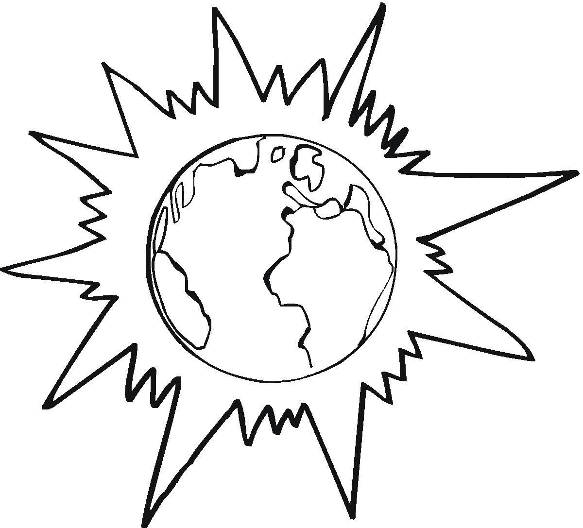 Desenhos Do Sol Para Colorir