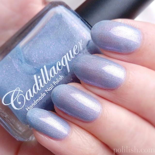 Cadillacquer Awakening swatch, three coats | polilish