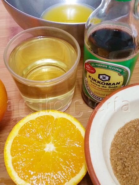 Alitas de pollo con naranjas, una delicia para cualquier paladar