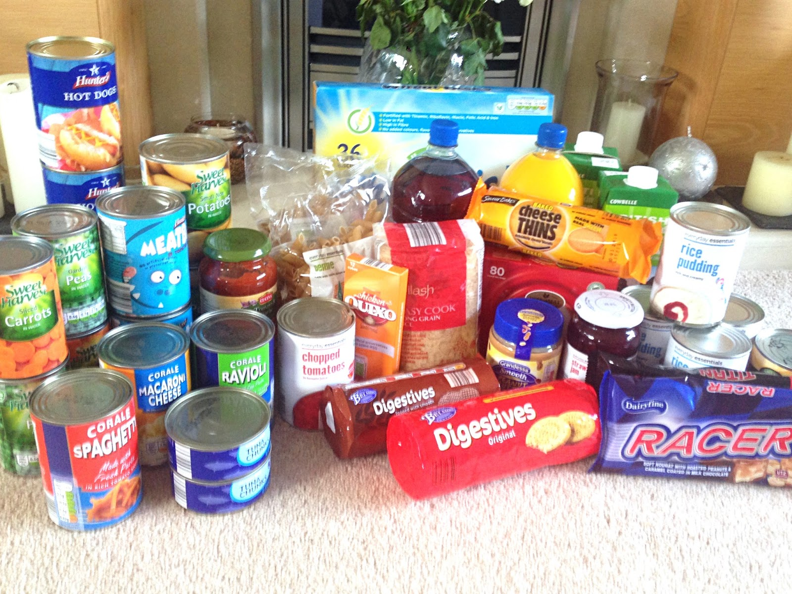 how to donate to food banks uk