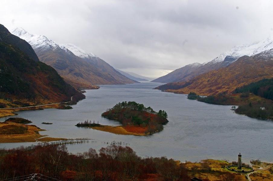 Scottish Highlands Loch
