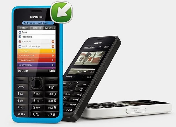 Nokia 301 receives software update