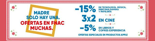 Top 15 ofertas promoción Día de la Madre de Fnac.es
