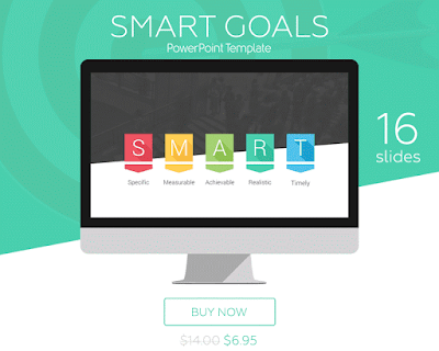 SMART Goals PowerPoint Template - PresentationDeck.com