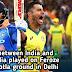 India and Australia played with Feroze