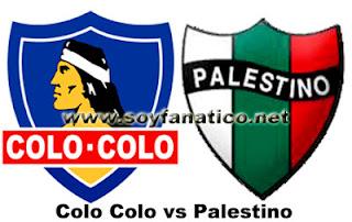 Colo Colo vs Palestino 2016