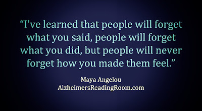 """I've learned that people will forget what you said, people will forget what you did, but people will never forget how you made them feel""."