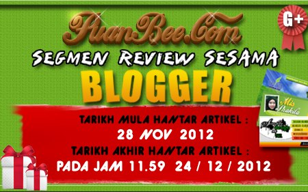 Segmen Review Sesama Blogger