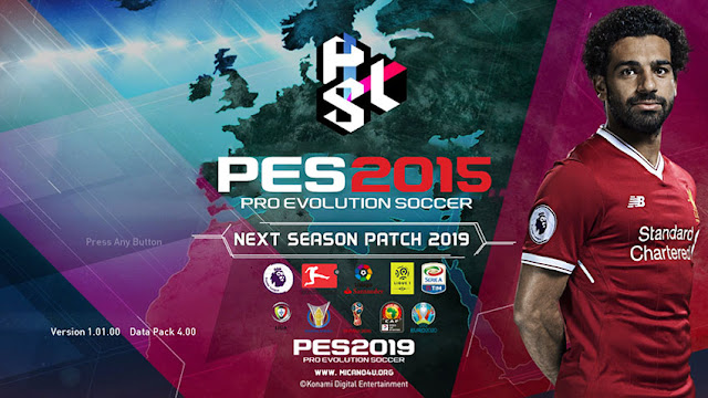 PES 2015 Next Season Patch 2019 - Released 22-06-2018