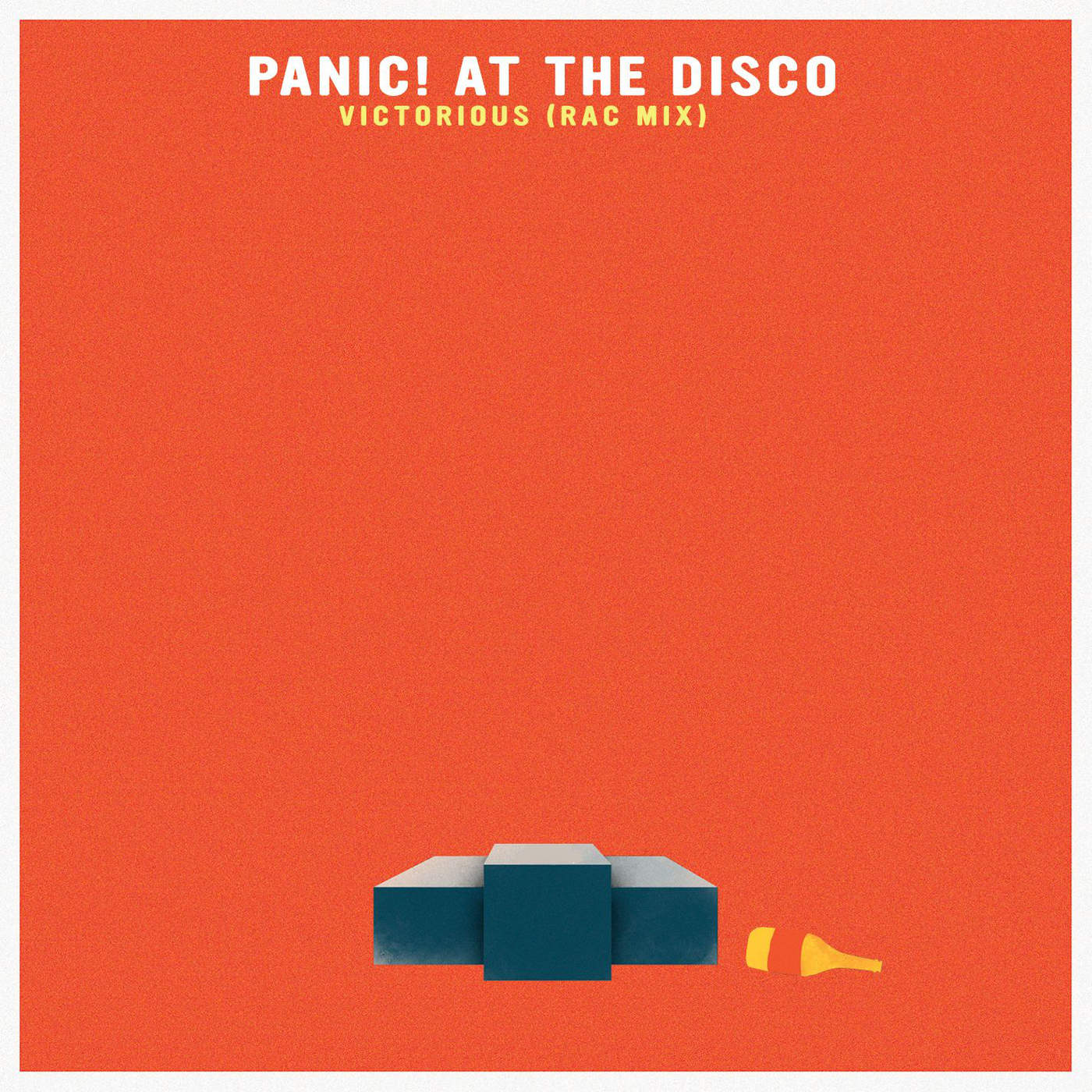 Panic! At the Disco - Victorious (RAC Mix) - Single Cover