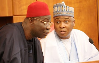 TOP SECRET: Saraki Using Budget Row To Negotiate CCT Trial With FG As His Lawyers Exhaust Tricks