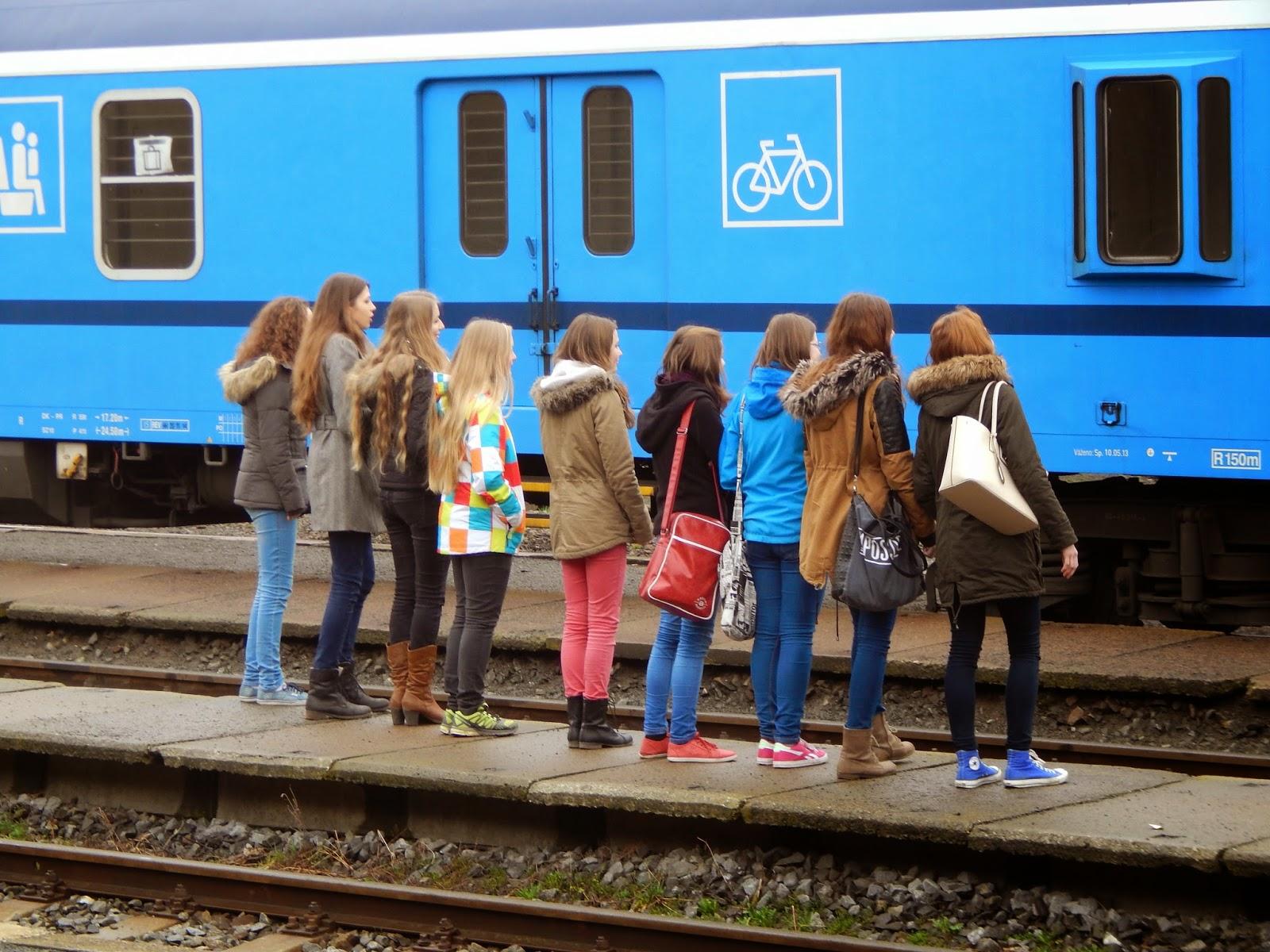 Odjezd holandských výměnných partnerů