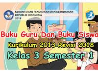 *Terbaru !! Buku Kurikulum 2013 Revisi 2018 Untuk Jenjang SD , SMP dan SMA*SMK