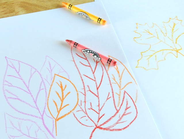 leaf drawings
