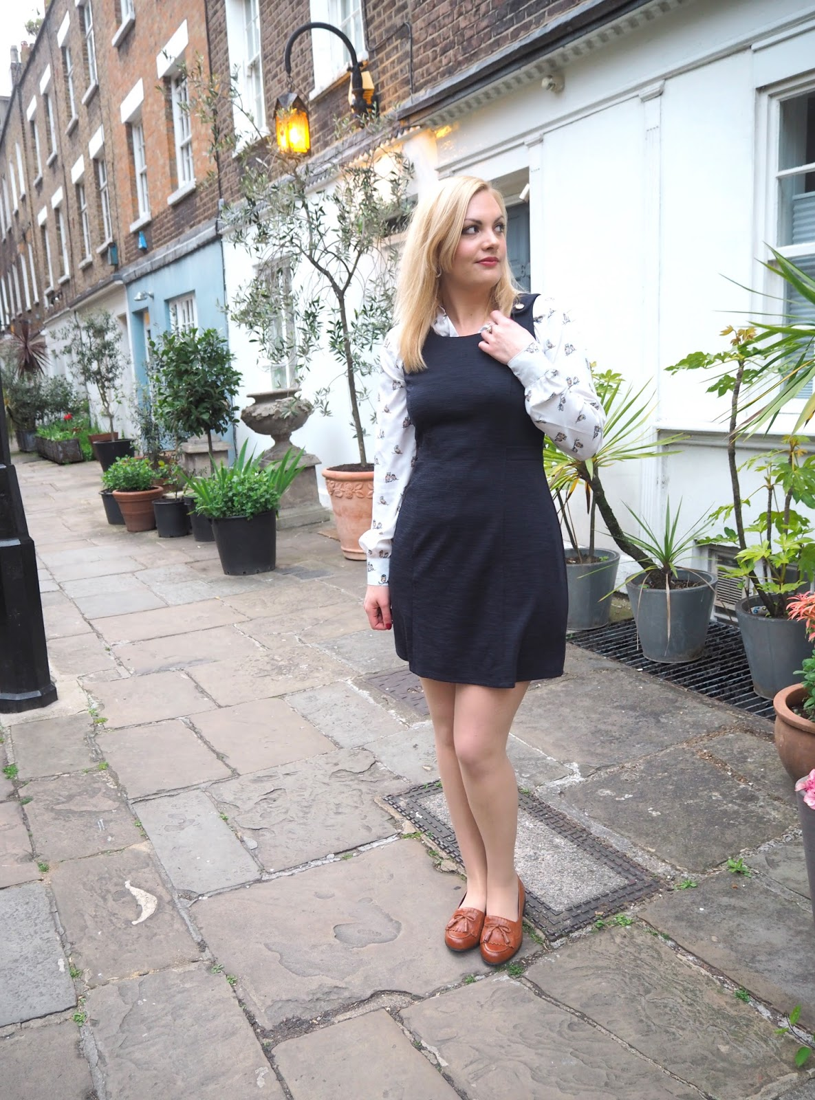 The Pinafore Dress: Outfit | Katie Kirk Loves