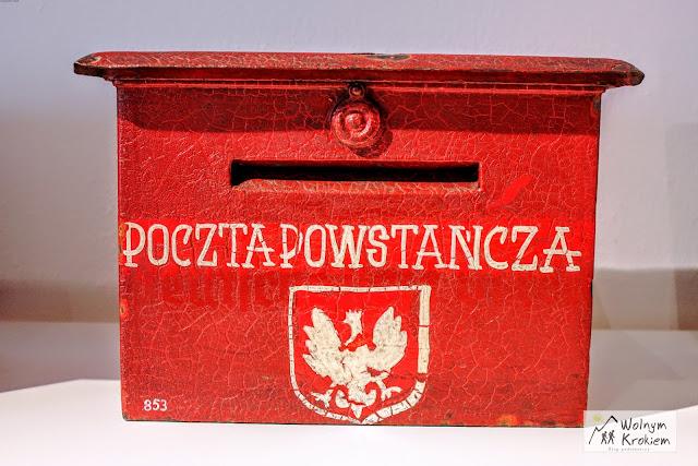 Skrzynka pocztowa - Poczta powstańcza