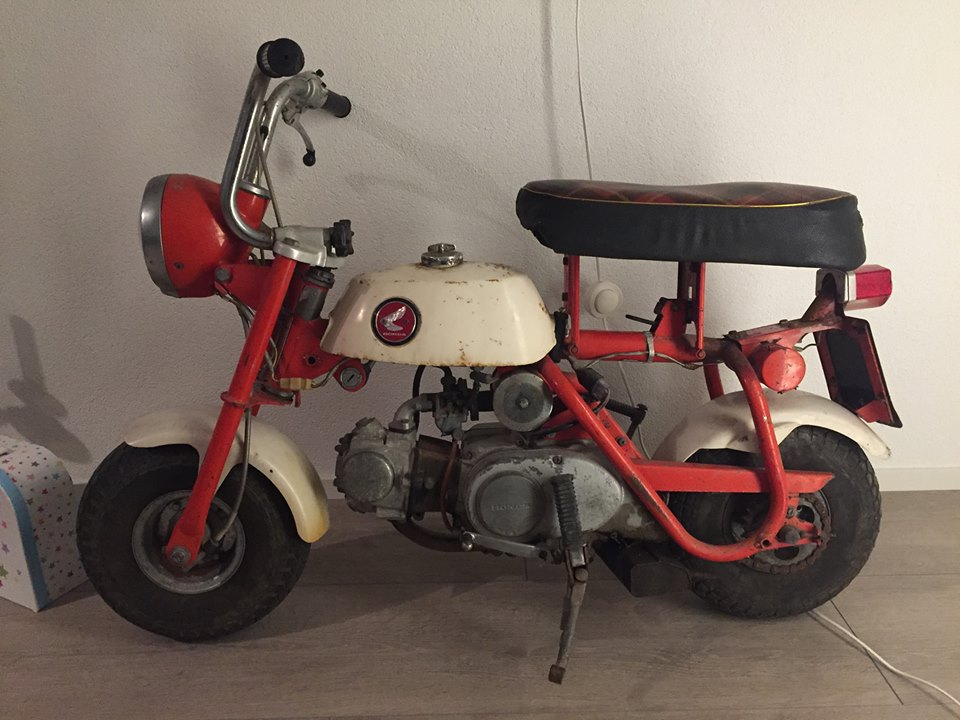Honda Z50M Posted In The Facebook Page 4takt