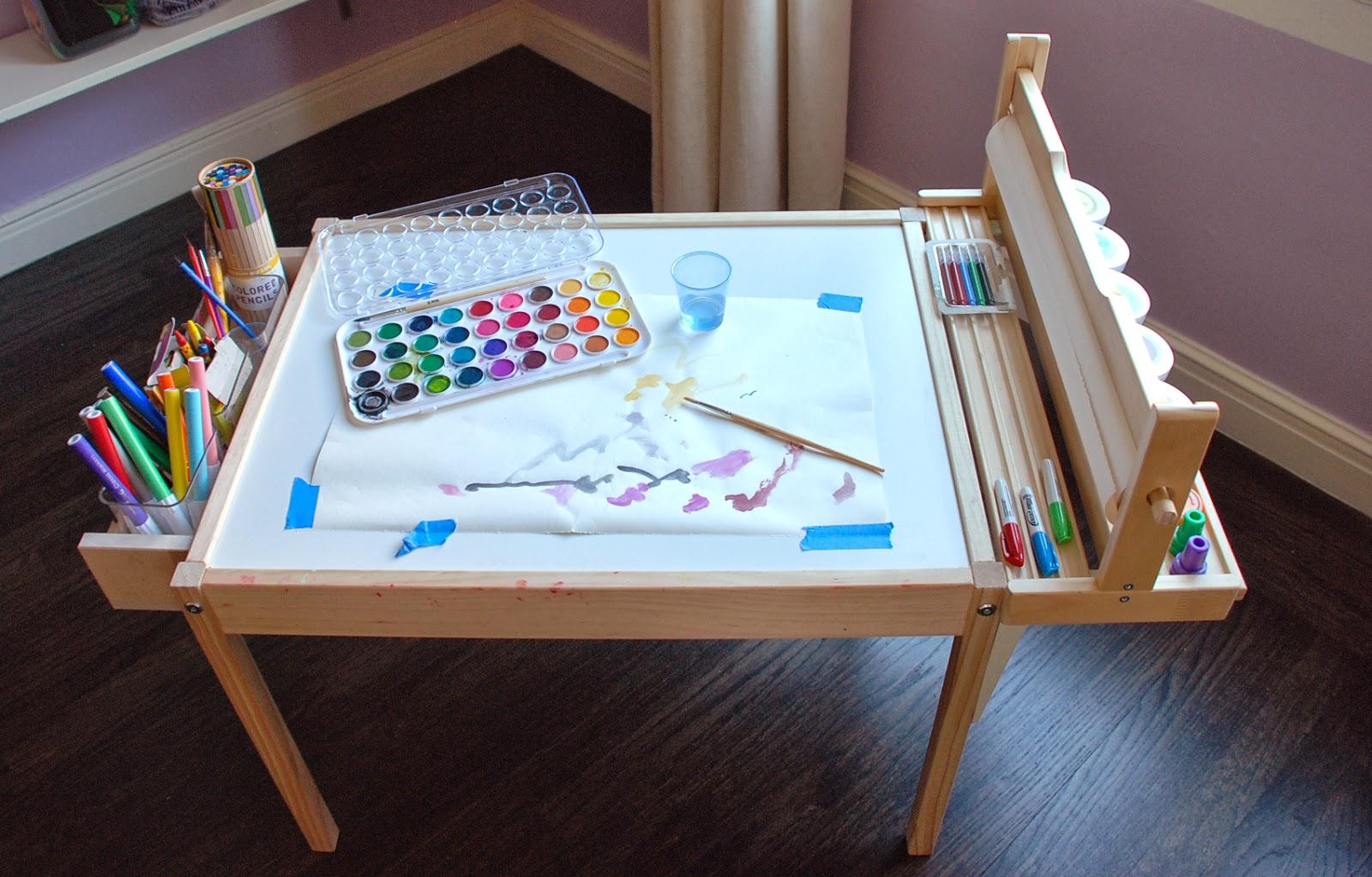 Diy Kids Craft Table Design Ingenuity