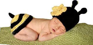 Queen Bee Baby Crochet Costume